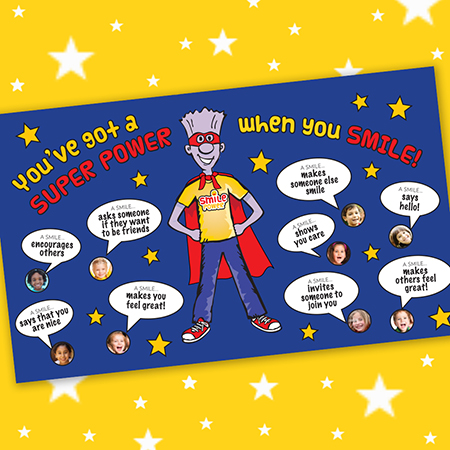 You've Got a Super Power Bulletin Board Kit