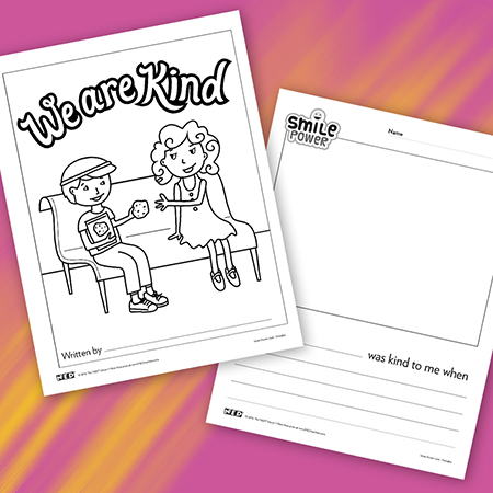We Are Kind Book Printable