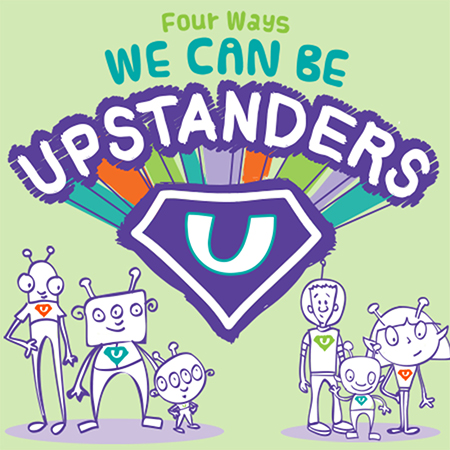 Upstander-Preventing Bullying Bulletin Board Kit