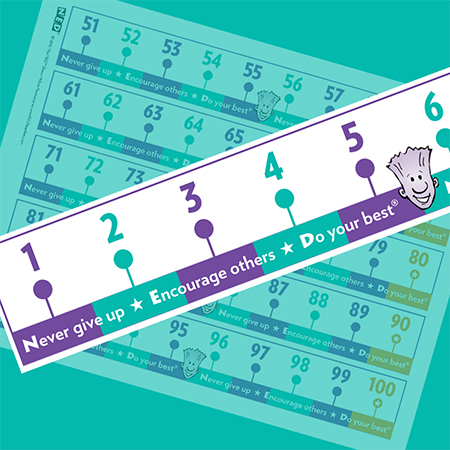 NED's Number LinePrintable