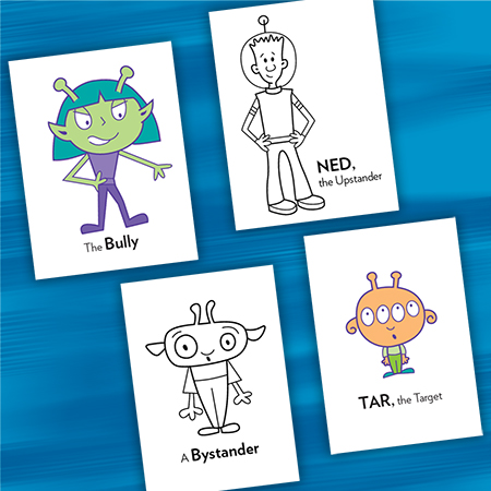 Character Cards - Preventing Bullying Printable