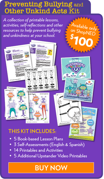 Preventing Bullying and Other Unkind Acts Kit - Lesson Plans, Printables, Self-assessments, Activities