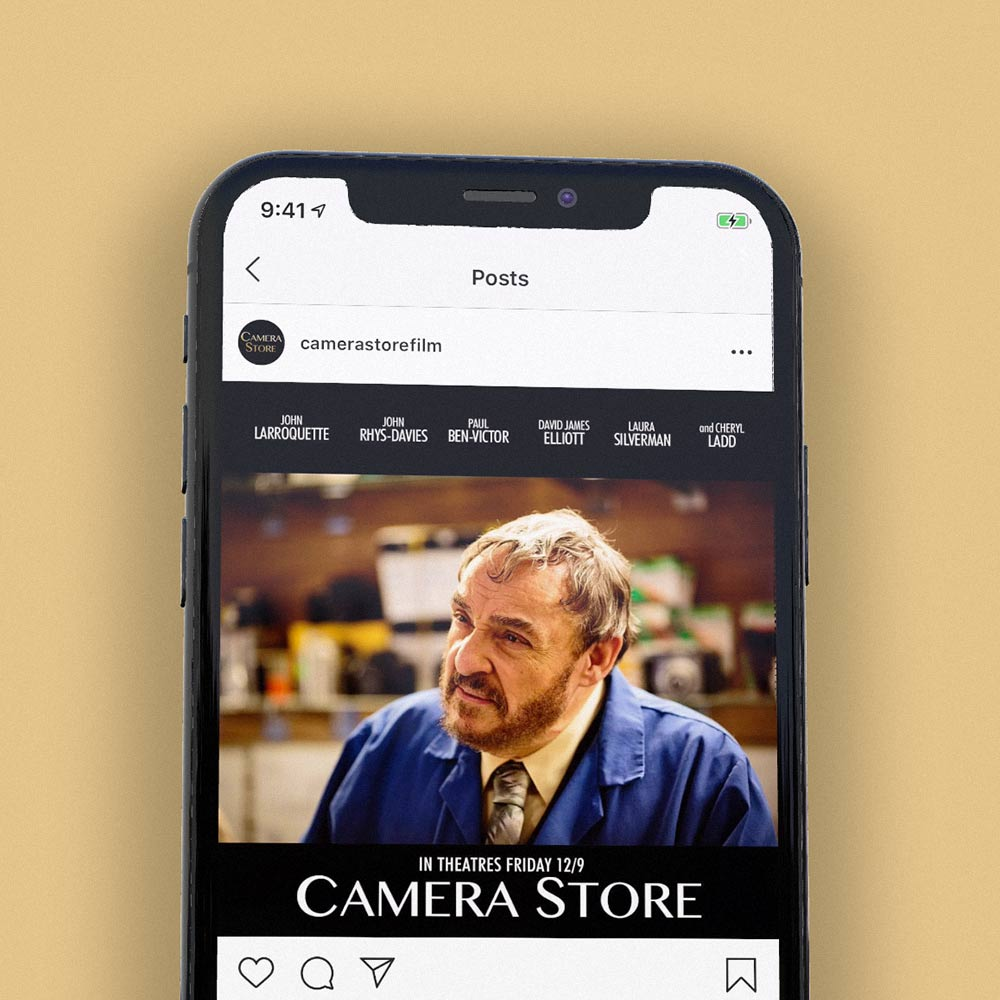 camera store branding by Thinktank creative design and marketing