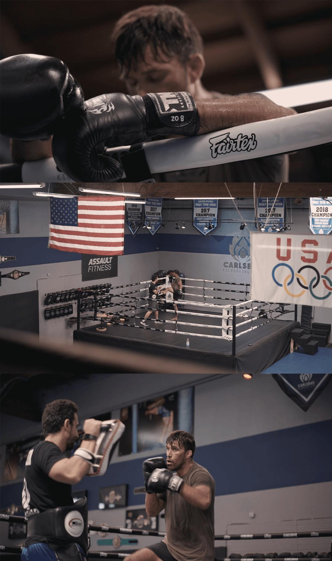 Nick Angeloni MMA Training