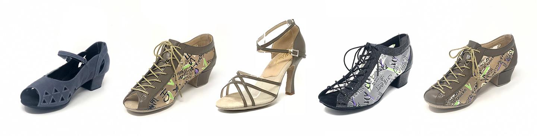 low heel dance shoes