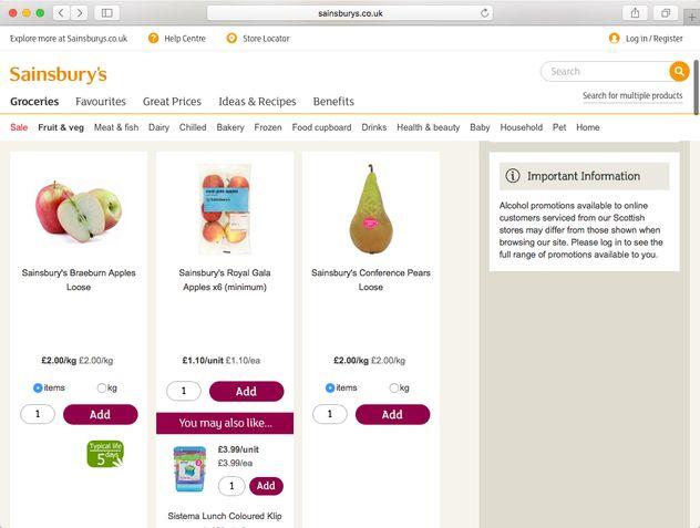 price comparison prevention