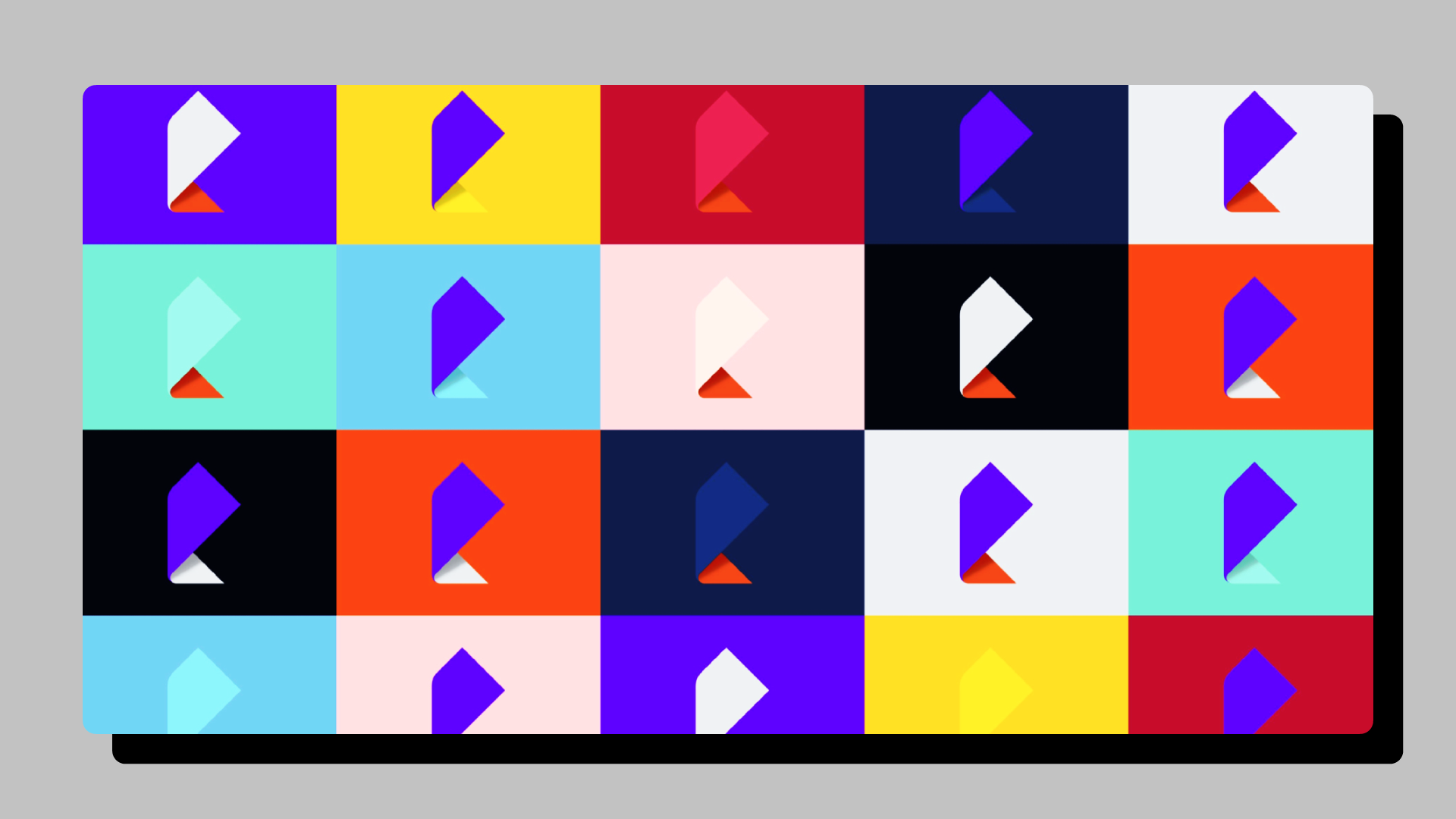 Яркие цветовые комбинации и градиенты