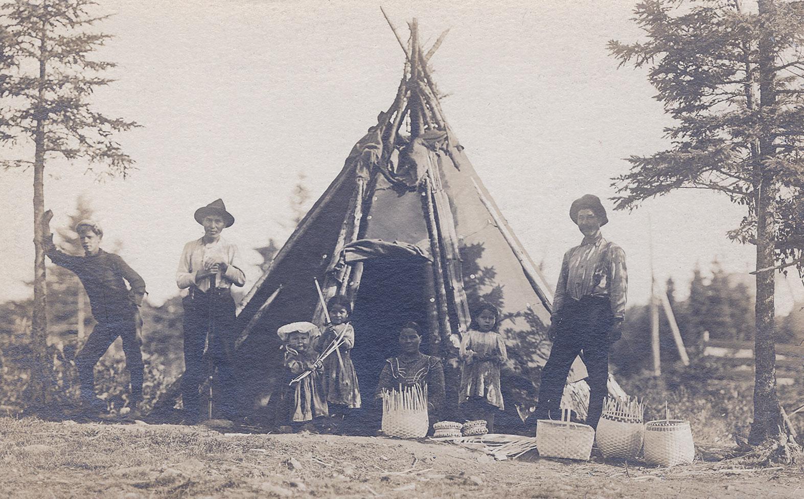 Eastern Passage Mi'kmaq settlers
