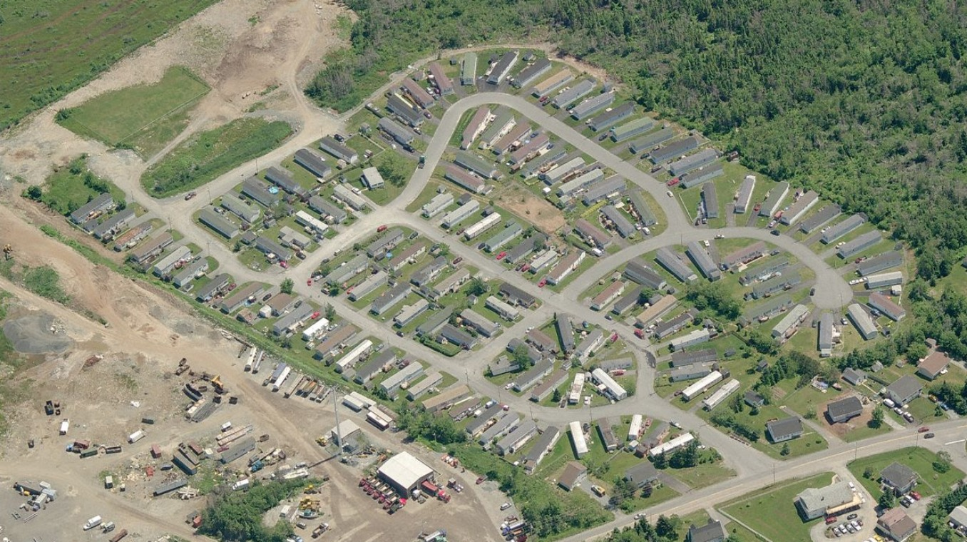 Eastern Passage aerial view