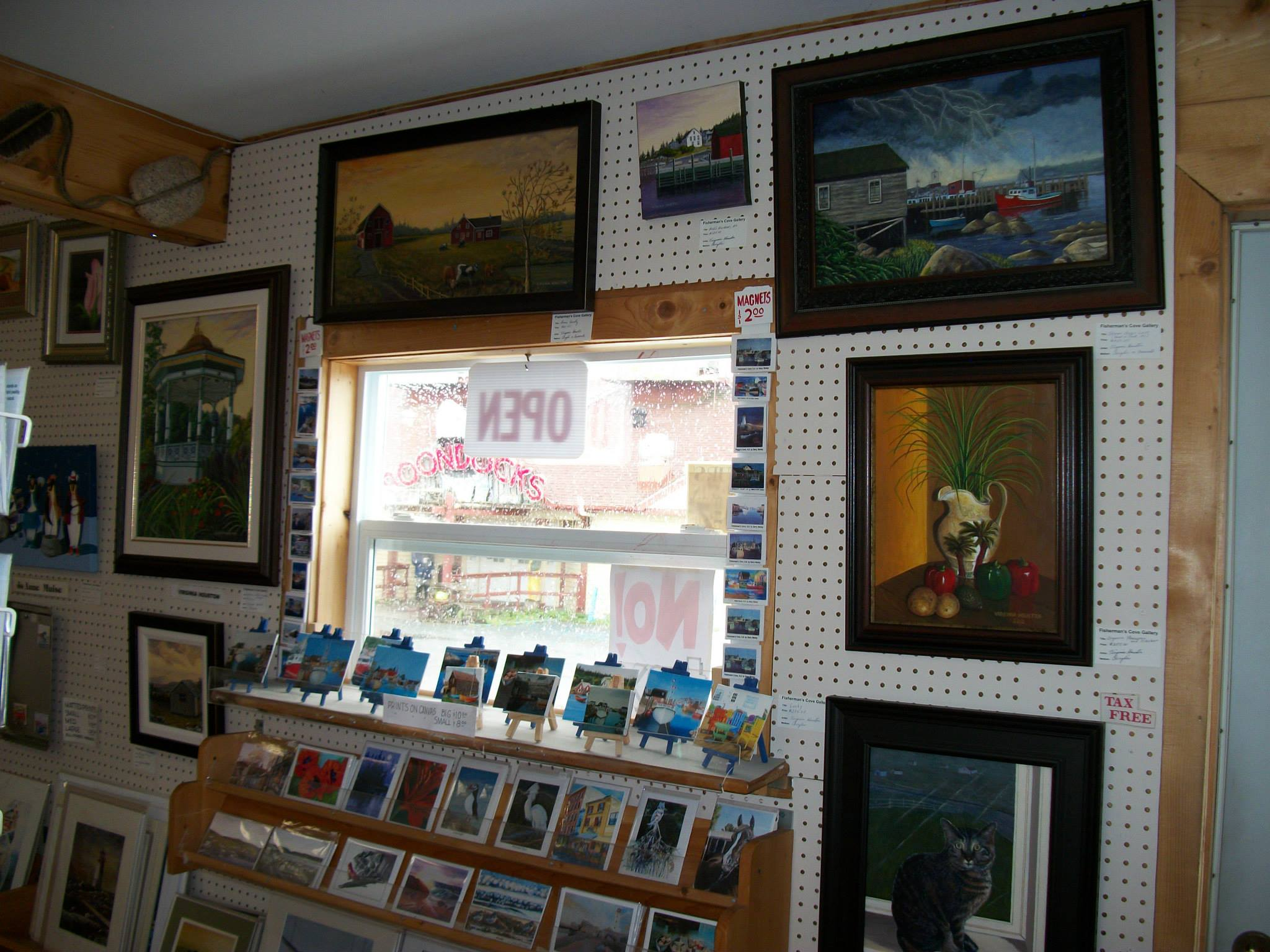 Fisherman's Cove Gallery interior