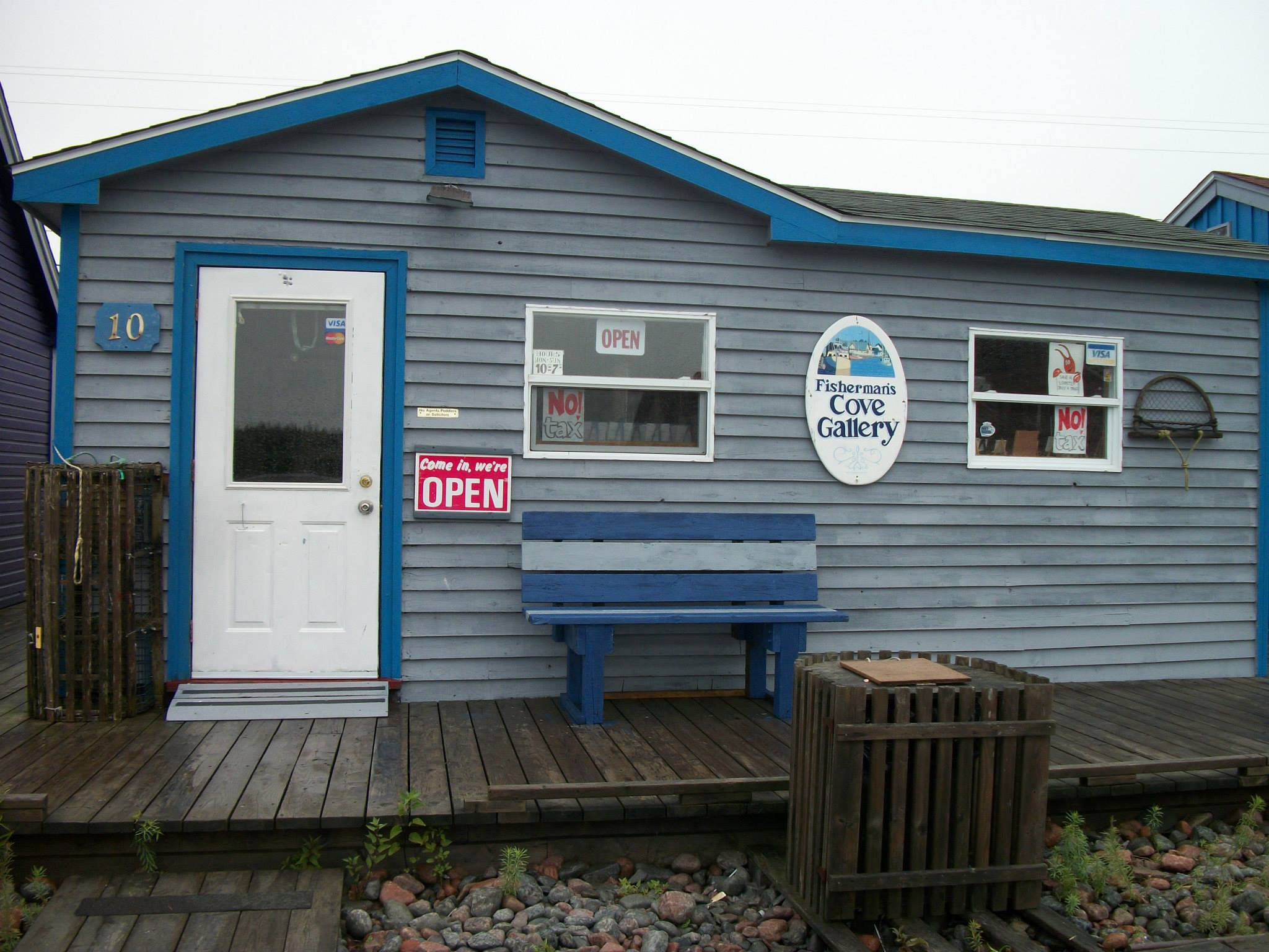 Fisherman's Cove Gallery storefront