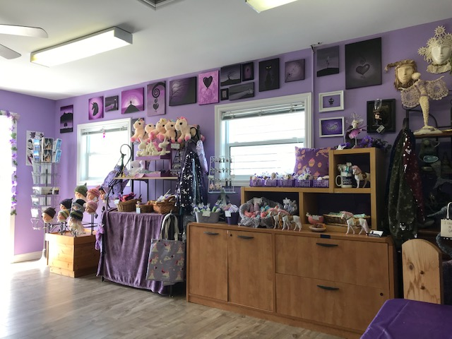 The Violet Unicorn shop interior