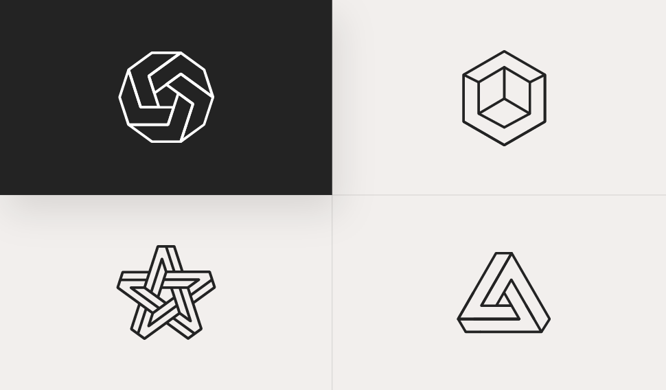 Pick an icon to create a logo