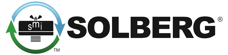 A logo for Solberg filters