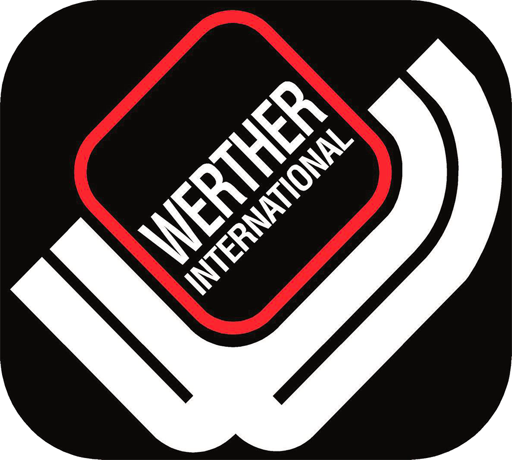 A logo for Werther International compressors