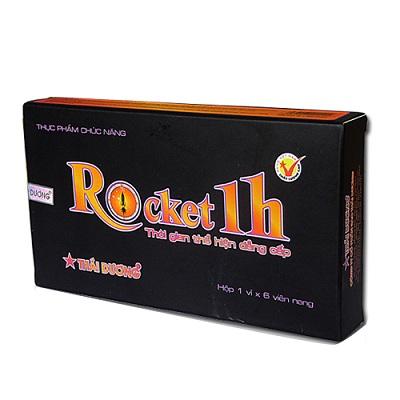 6. ROCKET 1H - Thuốc bổ thận tráng dương tăng cường sinh lực