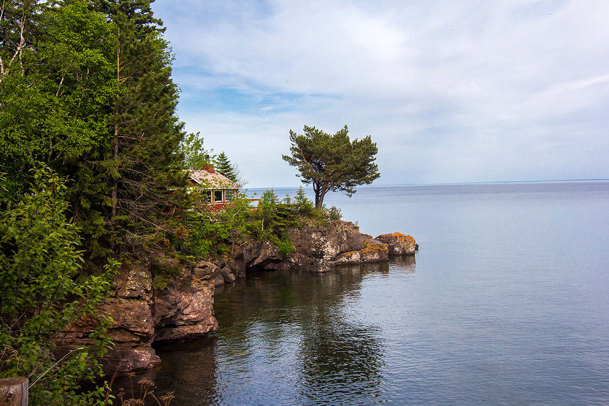 Breezy Point on Lake Superior (Two Harbors)