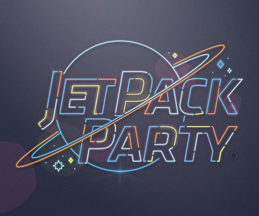 BlueStreak JetPack Party logo
