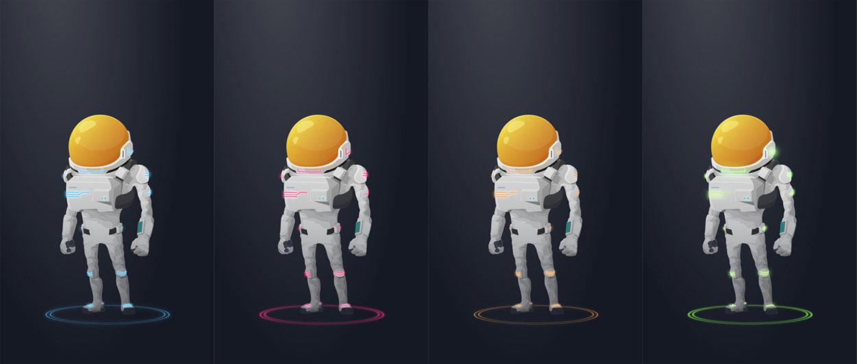 BlueStreak Math boy astronaut