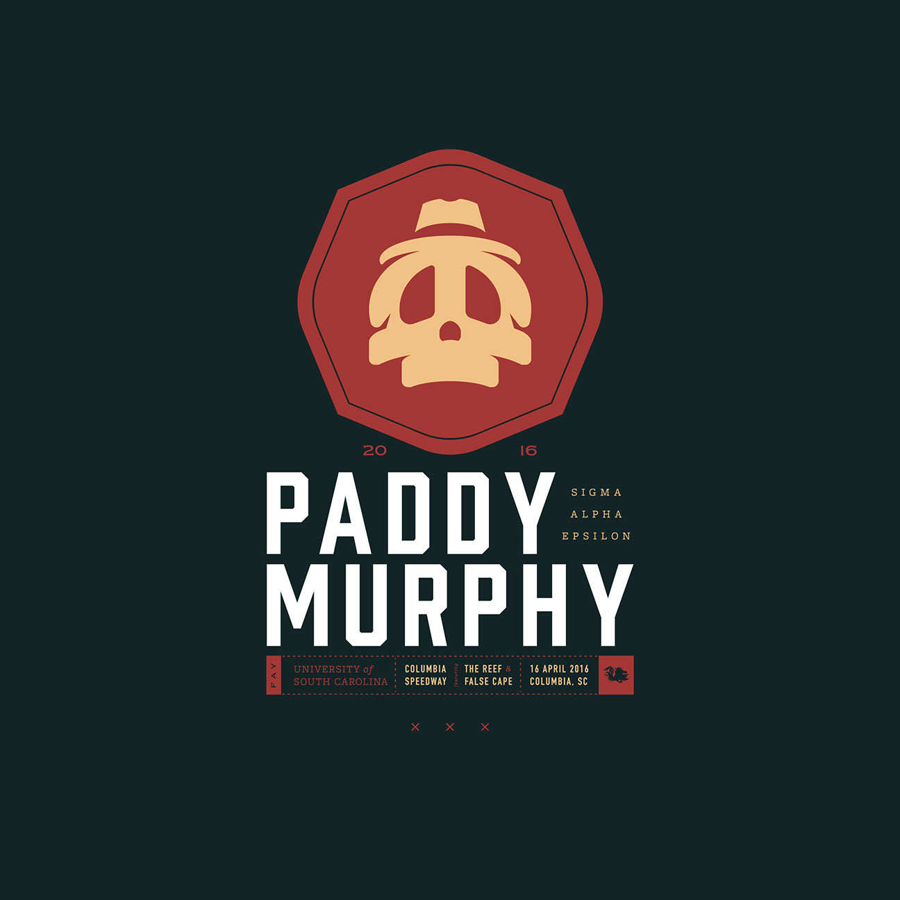 SAE Paddy Murphy branding