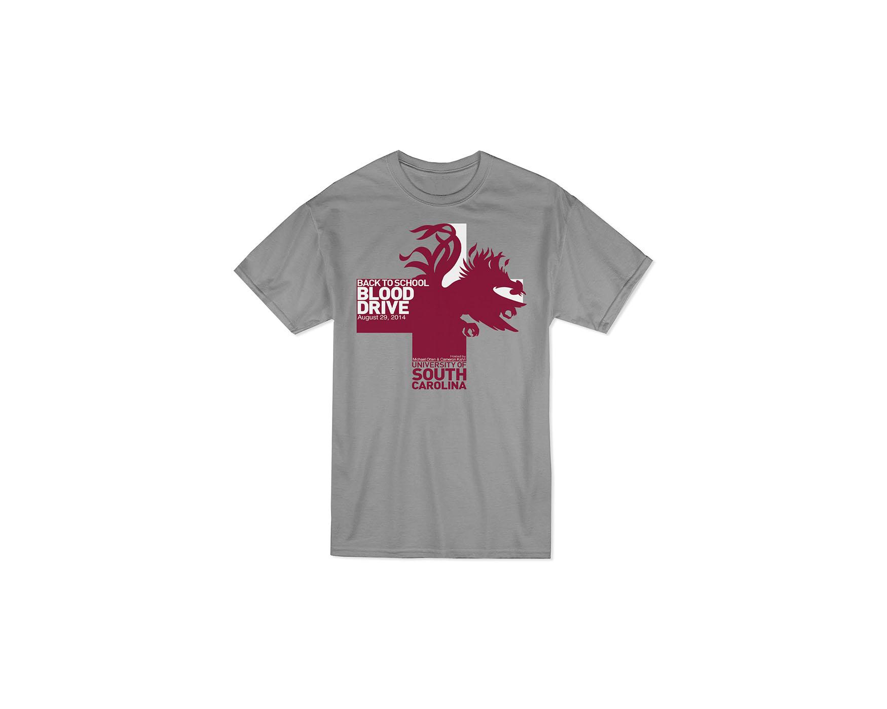 USC Back to School Blood Drive shirt