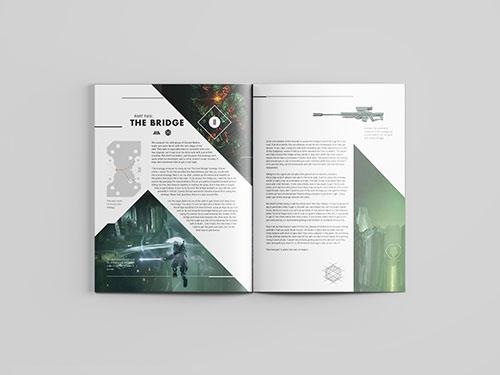Destiny magazine spread