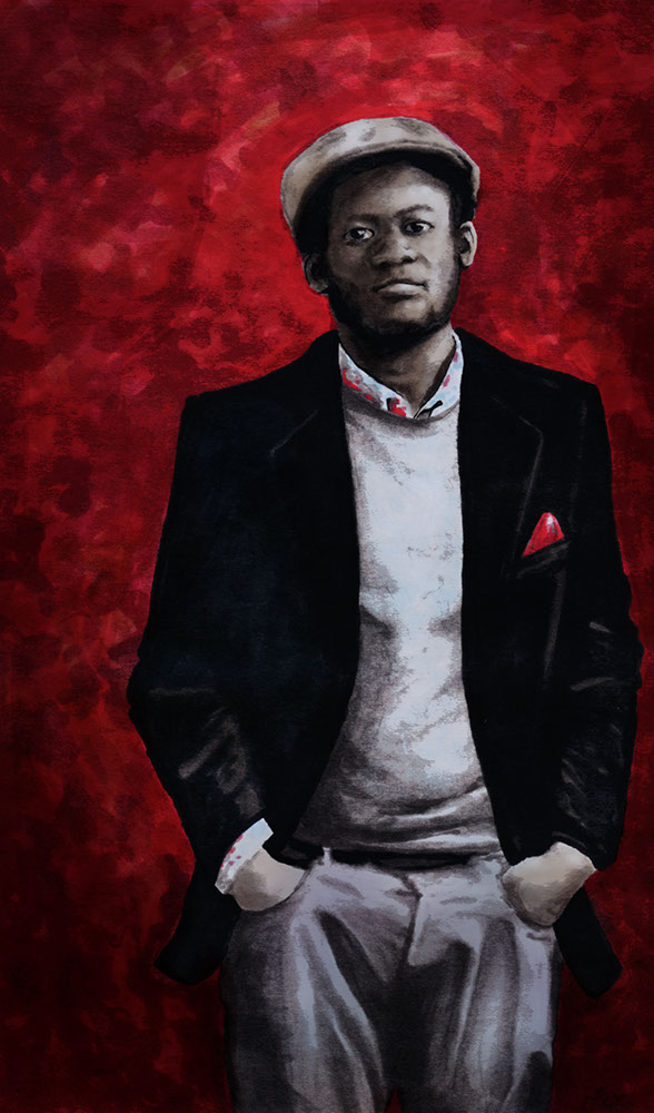 Michael Kiwanuka illustration