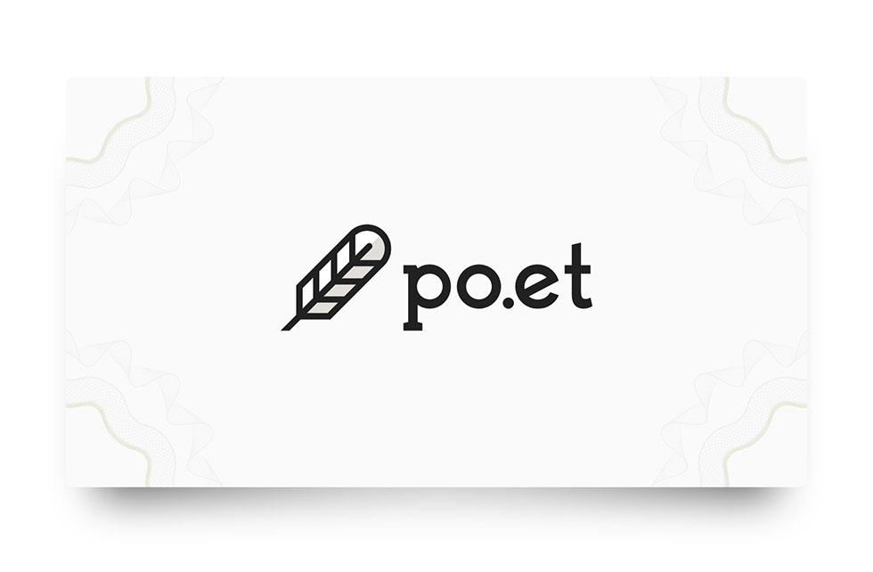 Po.et logo (collab. Pat Riley)