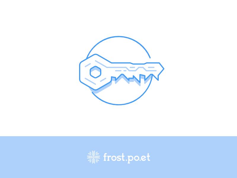 Po.et Frost icon Key