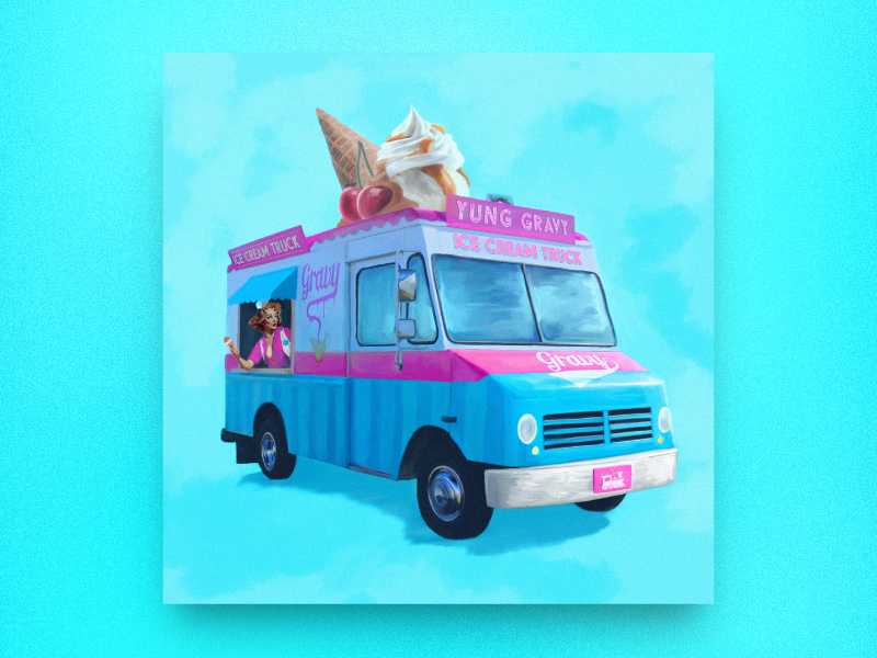 "Yung Gravy - ""Ice Cream Truck"" official cover art"