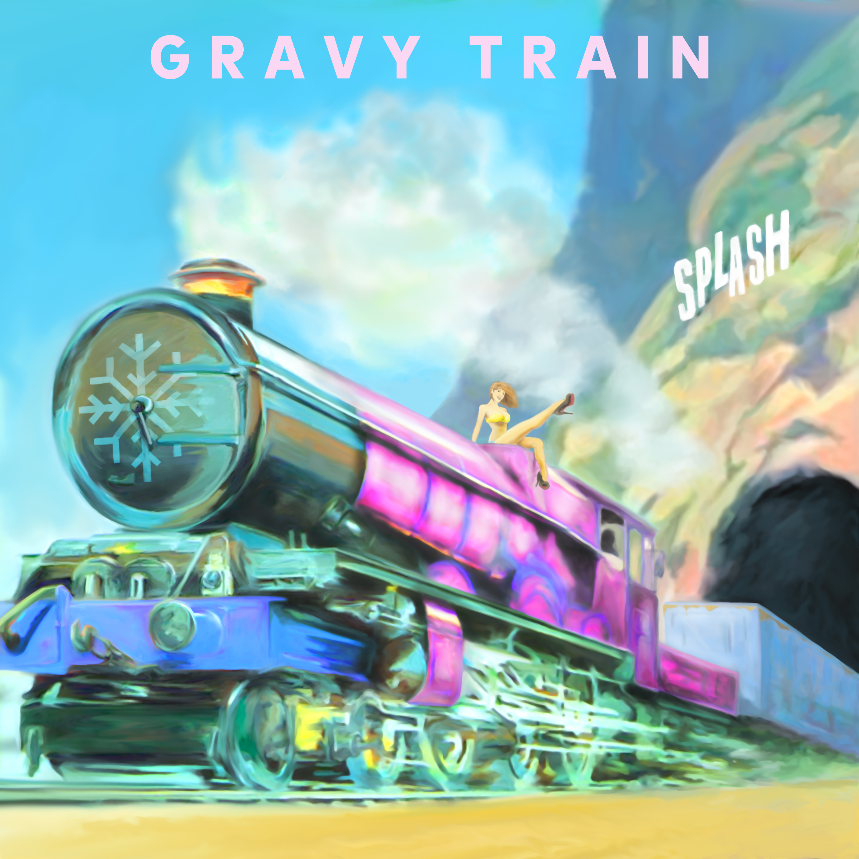 "Yung Gravy - ""Gravy Train"" official cover art"