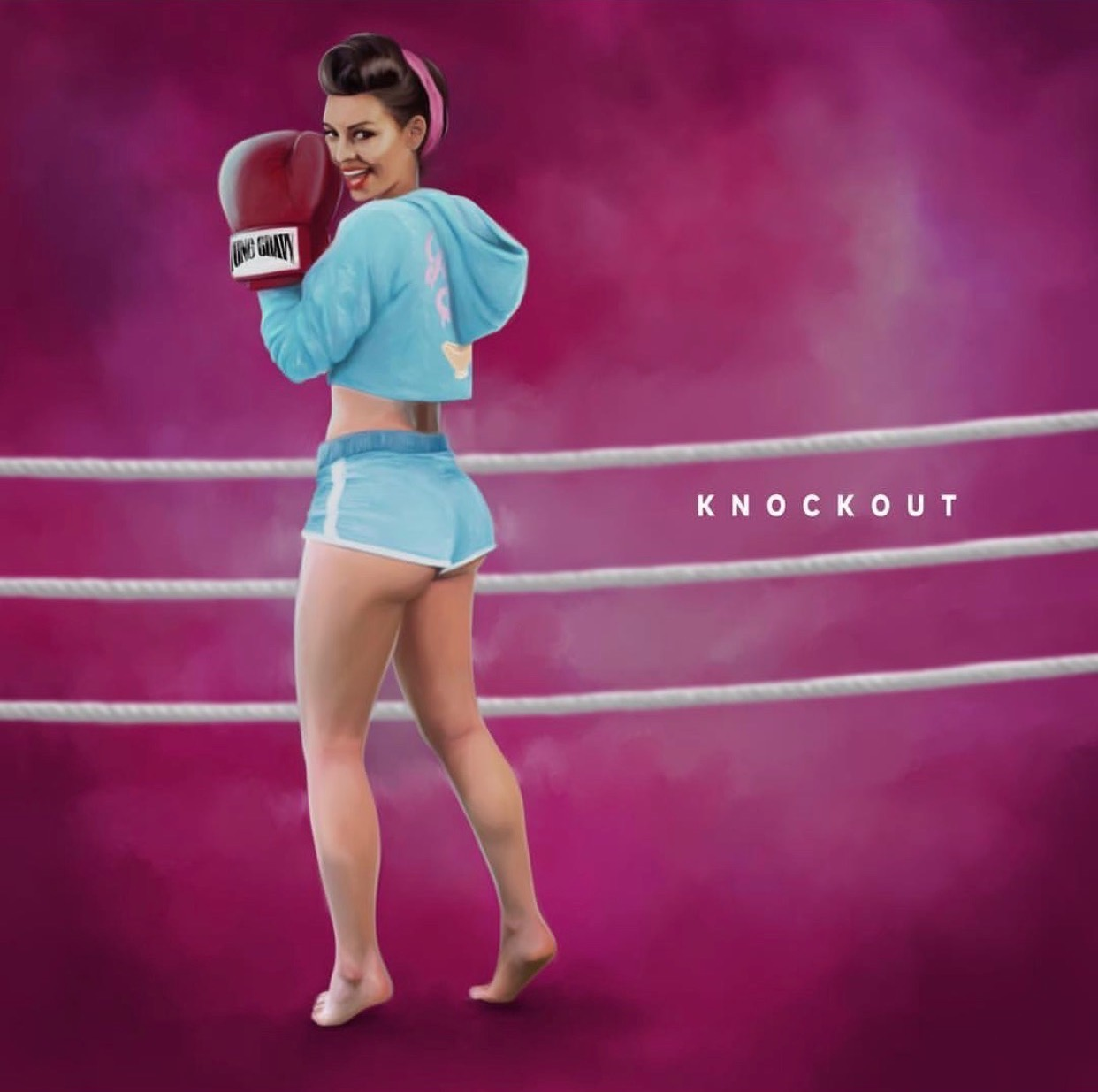 "Yung Gravy - ""Knockout"" official cover art"