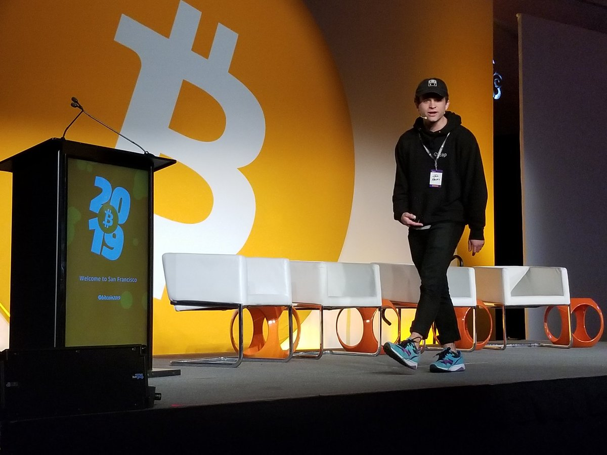Bitcoin 2019 conference stage design