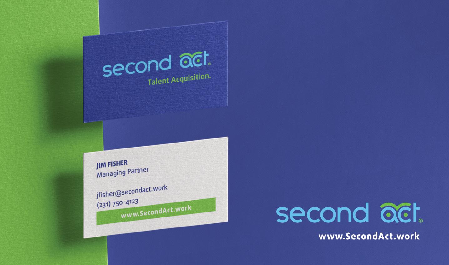 Second Act branding