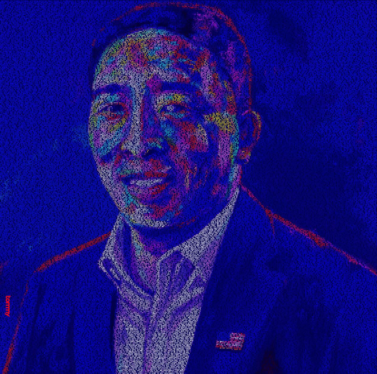 Andrew Yang Policy Portrait 2 #Yang2020 #ArtistsForYang