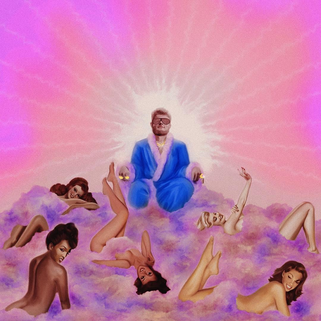 "Yung Gravy ""Experience the Sensation Tour"" artwork"