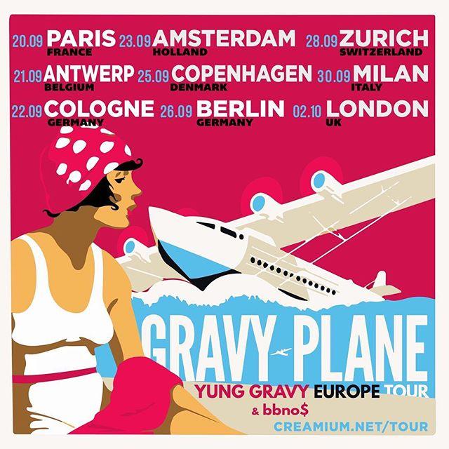 Yung Gravy - Gravy Plane Tour artwork