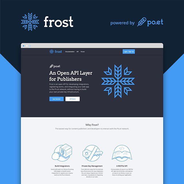 Frost API branding