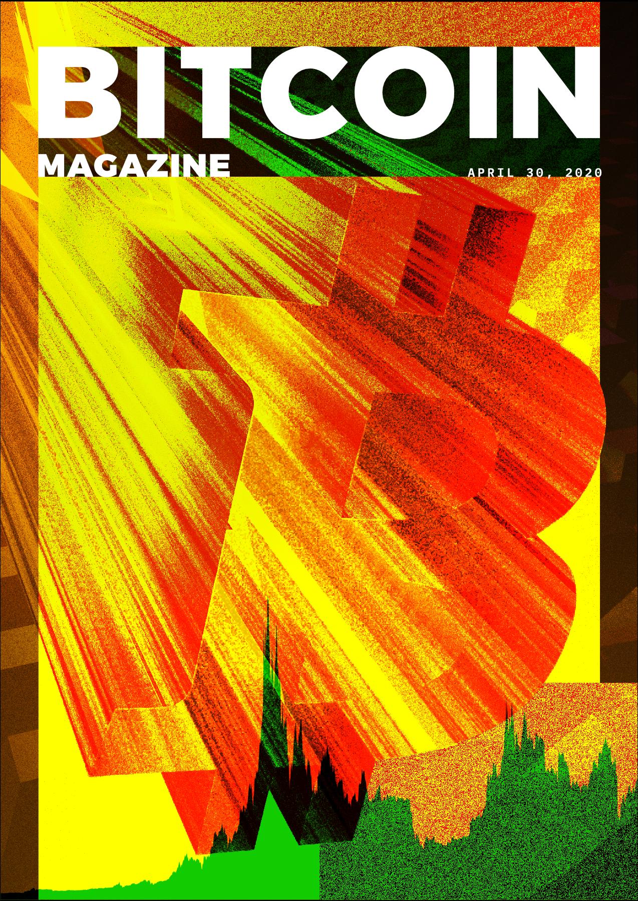 Bitcoin Magazine cover art (April 30, 2020)