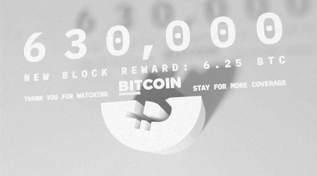 BitcoinHalving.com 21–HR Live Stream #630000 Celebration