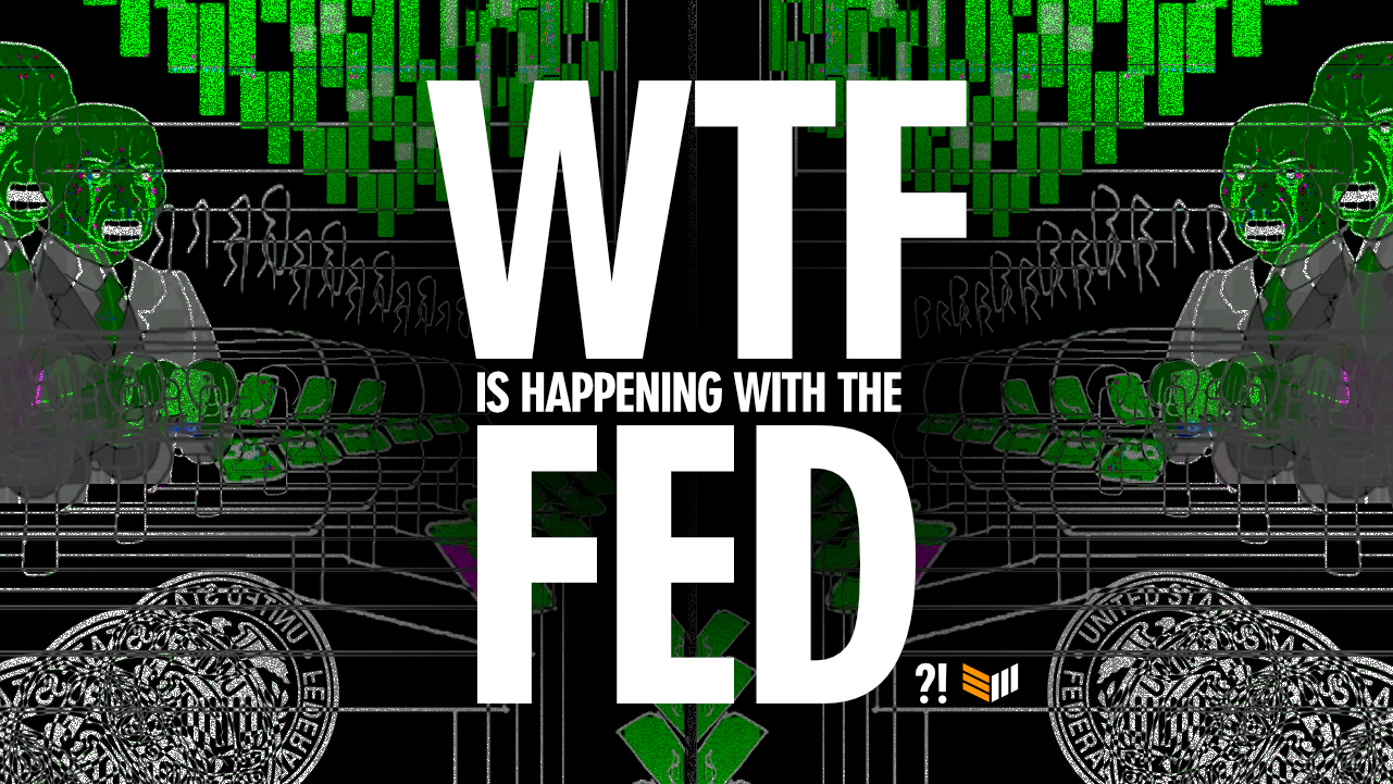WTF is Happening with the FED?! podcast graphics