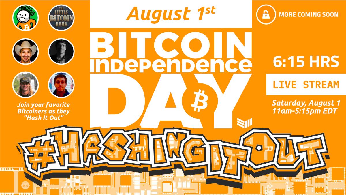 Bitcoin Independence Day branding (Bitcoin Magazine)