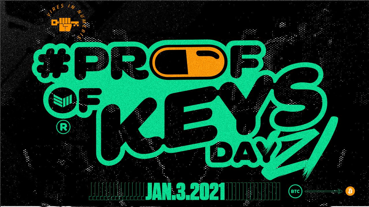 Proof of Keys Day '21 Bitcoin Magazine®