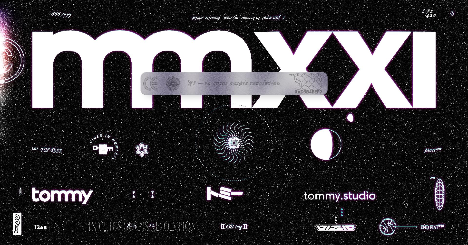 mmxxi ––  tommy Studio (OG img)