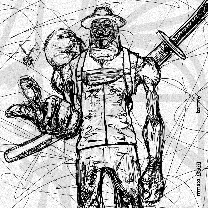 Satoshi-A-Day Sketch #001