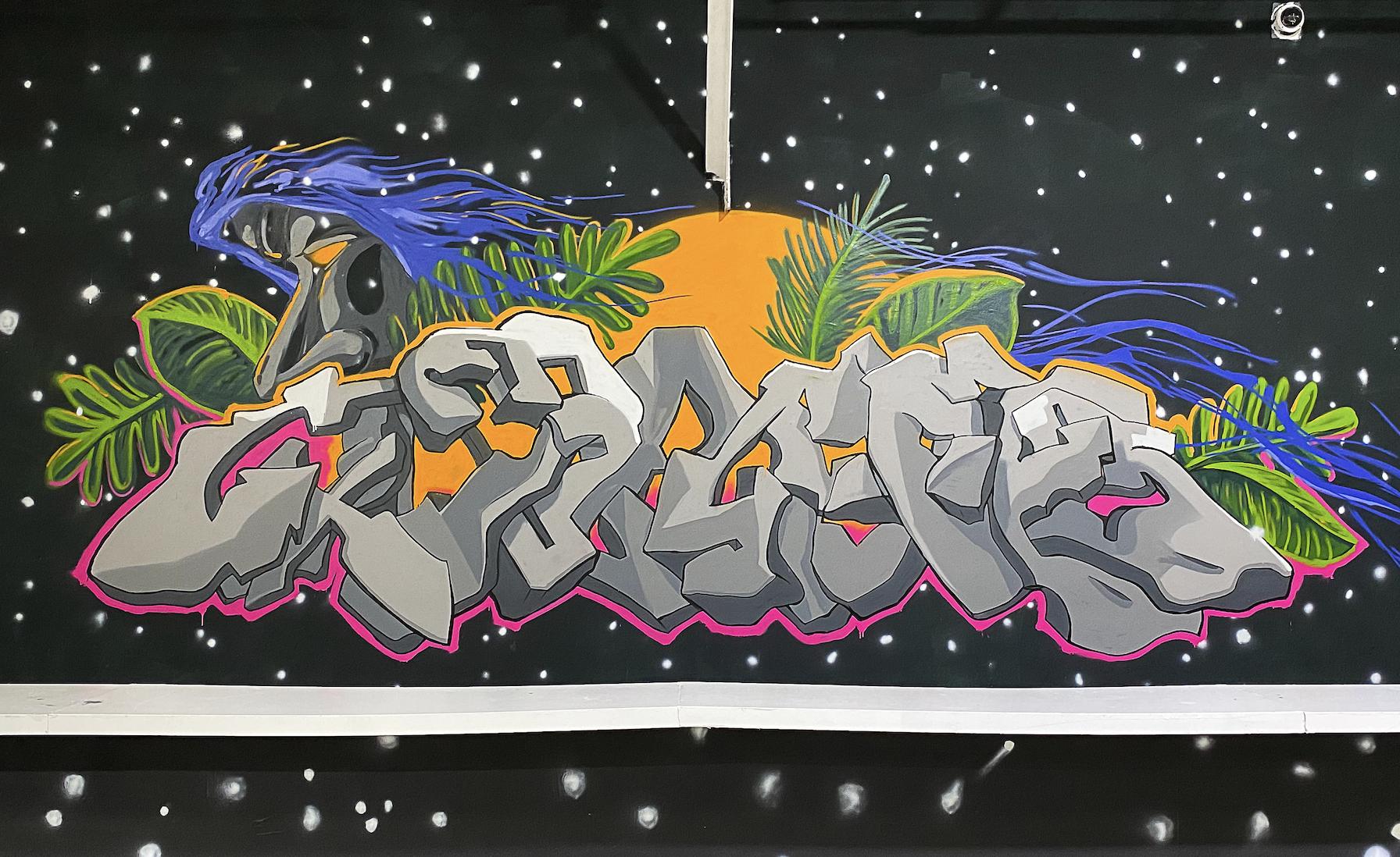 0xD9B4BEF9 [mural at Bitcoin 2021]