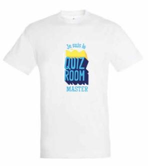 Je suis le Quiz Room master