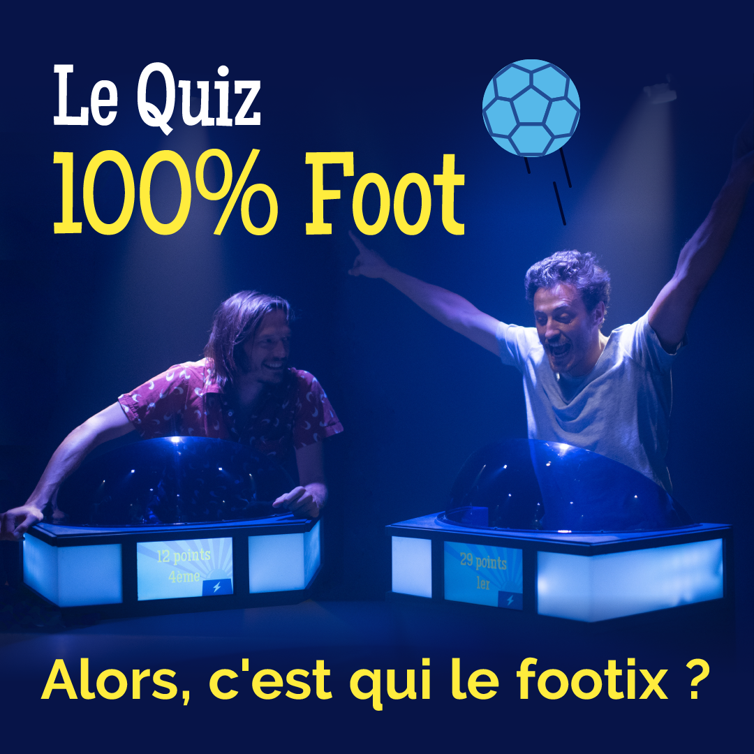 Le Quiz 100% Foot - Quiz Room
