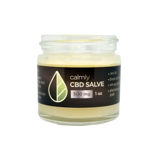 500mg CBD salve