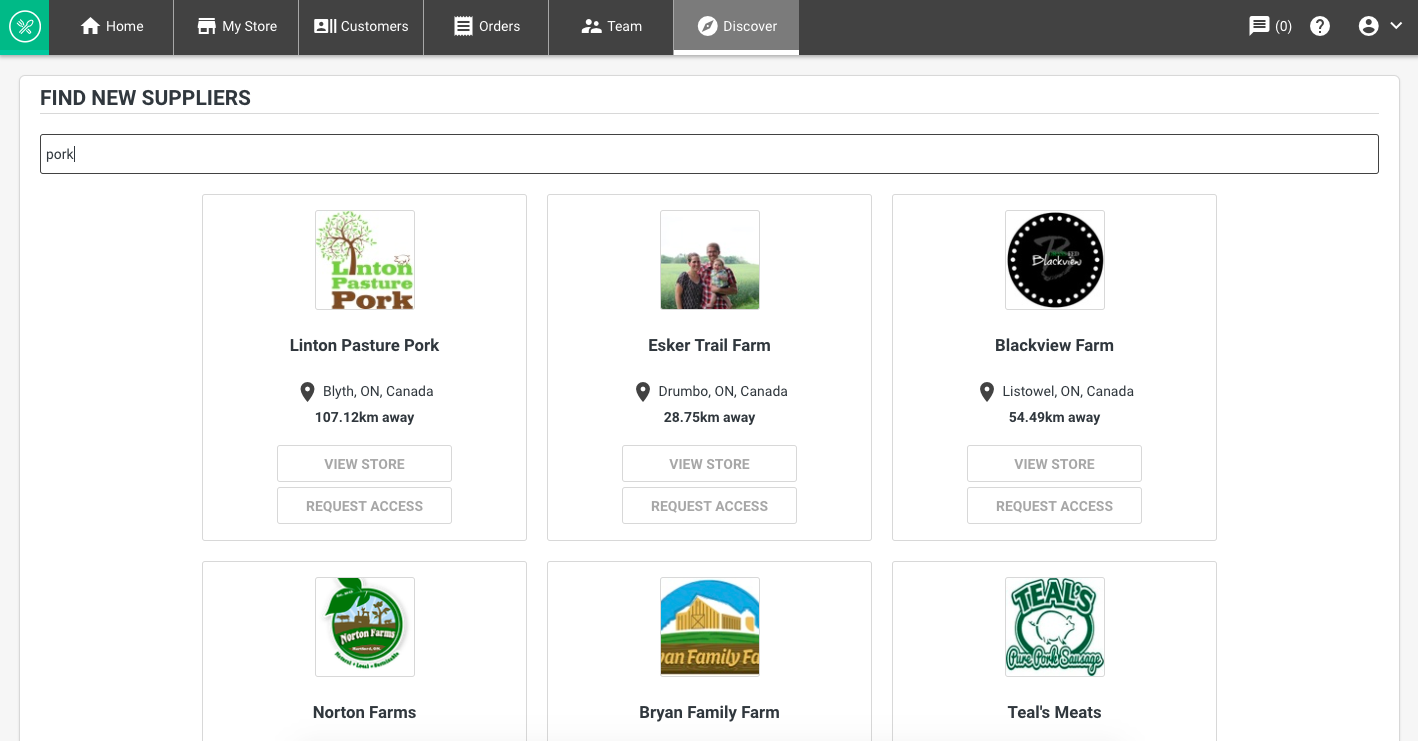 Discover local suppliers in your area